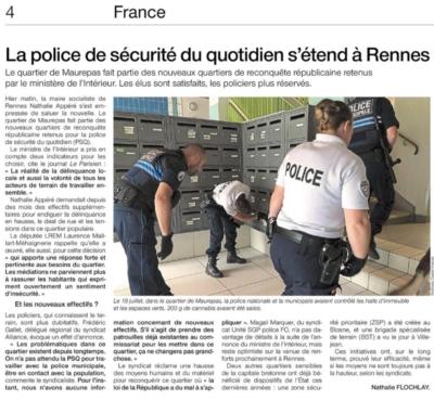 Ouest France 9-10 février 2019