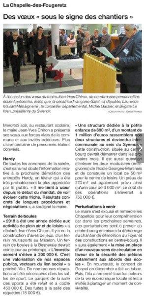 Tribune, Ouest France 17 novembre 2018