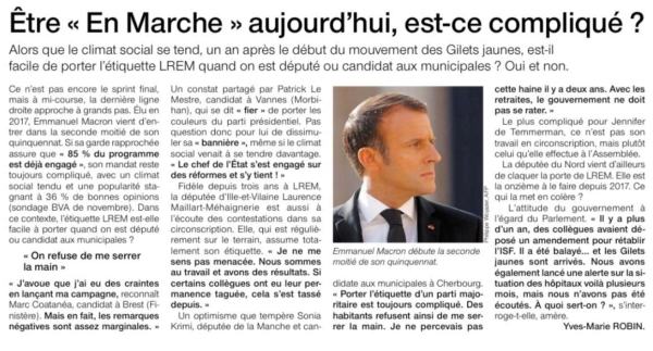 Ouest France 16 décembre 2019