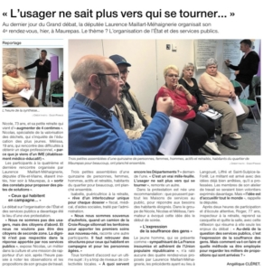 Ouest France 16 mars 2019