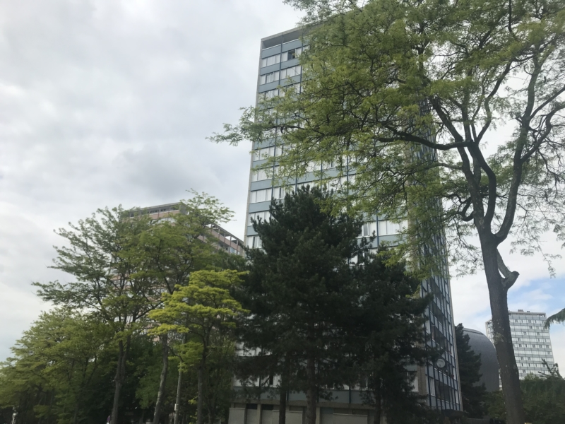 Quartier de Maurepas à Rennes